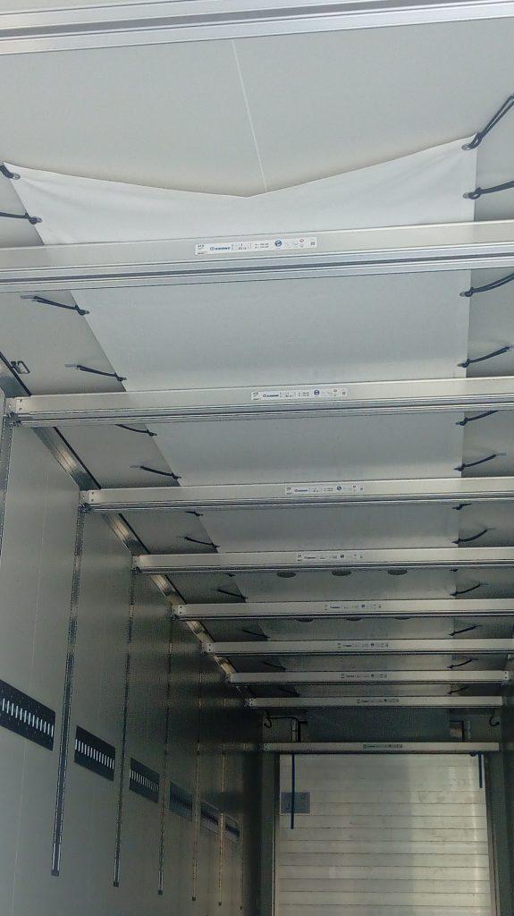 Lonas fabricadas para los camiones frigoríficos