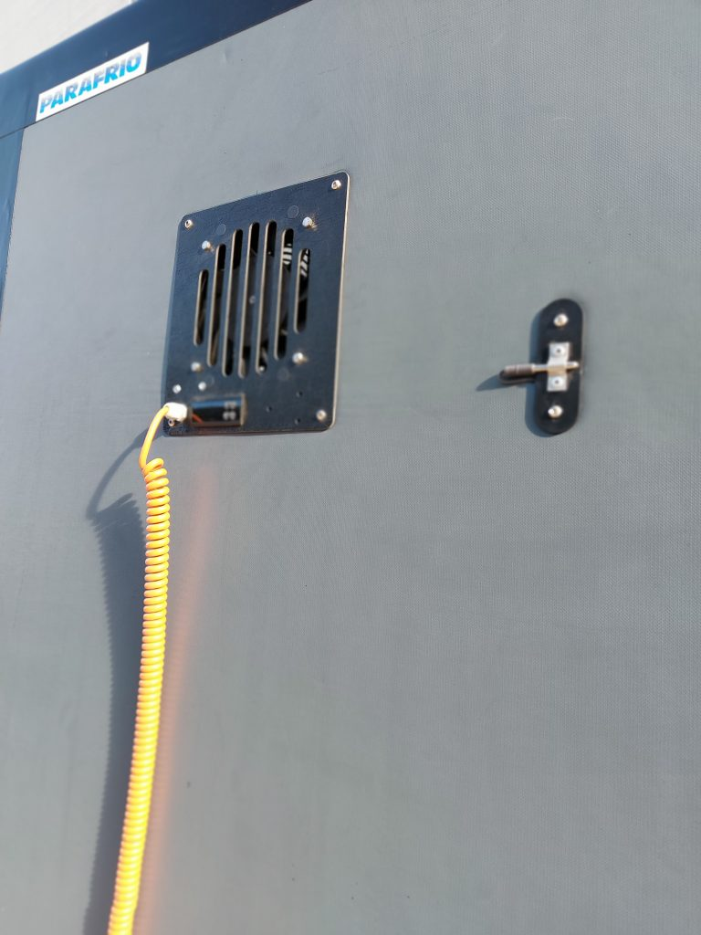 Separador Frigorifico Parfrio con Electro ventilador